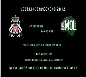 Leerlingenweekend 2012