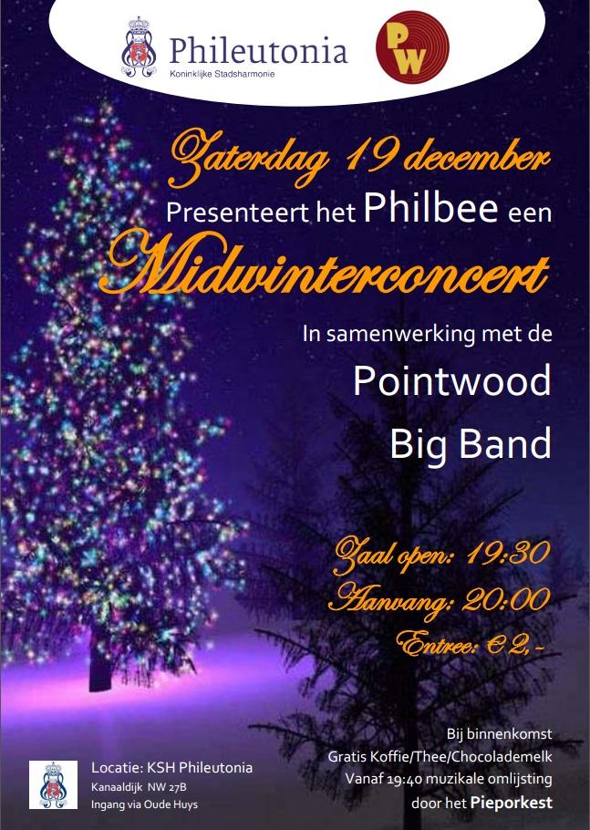 Kerstconcert 2015 poster